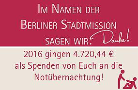 Gutes tun Spenden Berliner Stadtmission