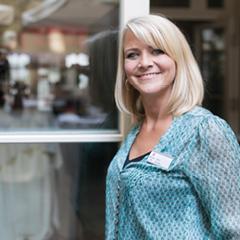 Restaurantleiterin Janin Krienke