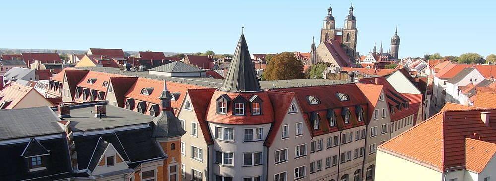 Luther-Hotel Wittenberg Luftansicht