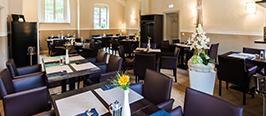 Restaurant von Bora im Lutherhaus in Wittenberg