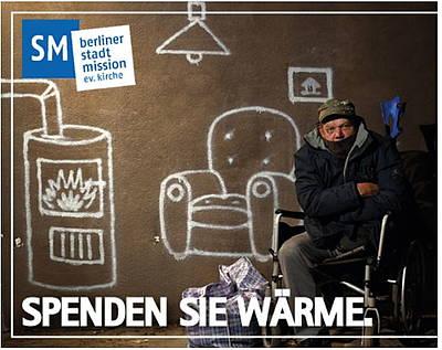 Wohltätiges Hotel Berlin Kältehilfe Spenden